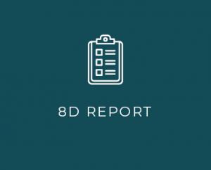 8D report