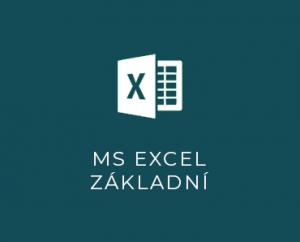 MS Excel I základní