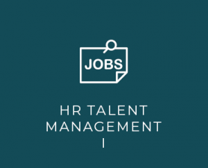 HR talent management I