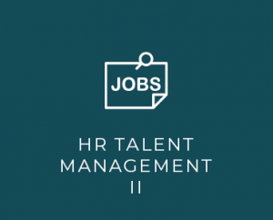 HR talent management II