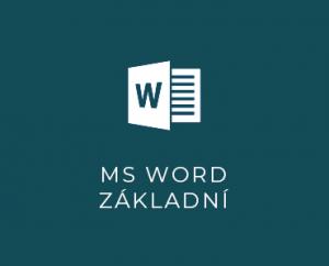 MS Word I základní
