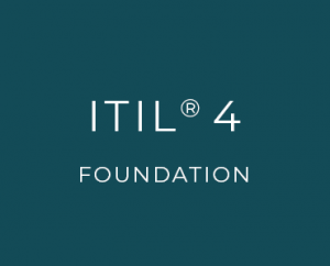 ITIL 4<br>Foundation